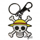 wholesale Gifts & Stationery: ONE PIECE - Key  Chain  Skull - Luffy