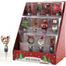 Display BOTTLE CORKS XMAS 12 assorted (Price pr