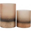 wholesale Flowerpots & Vases: WINDLIGHTS / VASES SAVANNAH set: 2 (price per se