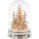 """nagyker Dekoráció: LED BELL """"karácsonyi jelenet"""