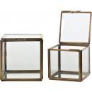 groothandel Glazen: GLASS BOXES   BOULEVARD  Set: 2 (prijs per set)