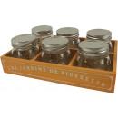 wholesale Drinking Glasses: KITCHEN SET ÉPICERIE Set: 7 (price per set)