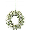 wholesale Artificial Flowers: DECORATIVE WHITE BERRIES