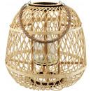 wholesale Wind Lights & Lanterns: LANTERN WITH GLASS LOMBOK