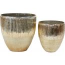 wholesale Candles & Candleholder: WINDLIGHT / VASE LUCIDA set: 2 (price per set)