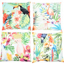 wholesale Cushions & Blankets: CUSHIONS JUNGLE 45X45 4 assorted (price per asso