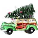 groothandel Woondecoratie: GLASSCHMUCK CHRISTMAS Cars