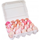 wholesale Artificial Flowers: EGGS DISPLAY ROSÉ 20 assorted (price per piece)