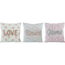 wholesale Cushions & Blankets: CUSHIONS SPRING LOVE 40X40 3 assorted (price per
