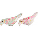 BIRD CLIPS  FLOWER POWER  2 Sorted (price per