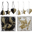 wholesale Decoration: DECORATIVE HANGER IN BOX 18 assorted (Price per pi