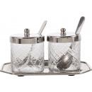 wholesale Drinking Glasses: Tins MT TABLEAU set: 2 (price per set)