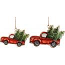 groothandel Woondecoratie: DECORATIE CHRISTMAS Cars set: 2 (prijs per ...