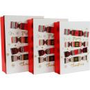 wholesale Decoration: BOXES CHRISTMAS Candy Set: 3 (price per set)