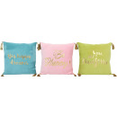 wholesale Cushions & Blankets: CUSHIONS DREAMS 45X45 3 assorted (price per asso