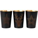 wholesale Wind Lights & Lanterns: WINDLIGHTS STAR 3 assorted (Price per piece)