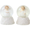 wholesale Snow Globes: SNOWBALLS ANGEL 2 assorted (price per piece)