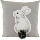 wholesale Cushions & Blankets: CUSHION COVER SNOW HARE 45X45