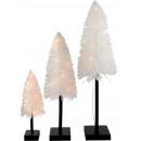 wholesale Lampes: LED TREES WHITE XMAS Set: 3 (price per set)