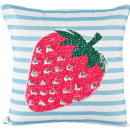 wholesale Cushions & Blankets: PILLOW CASES STRAWBERRY 40X40