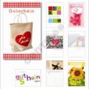 Großhandel Geschenkartikel & Papeterie: Glückwunschkarte  GUTSCHEIN, 11,5 x 17,5 cm,