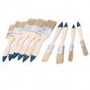 10 Malerpinsel,  Pinsel Set  Flachpinsel Satz ...