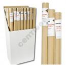 Großhandel Geschäftsausstattung: Packpapier natur,  ca. 80g/qm, 0,70 x 3m
