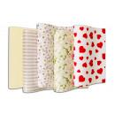 Großhandel Geschenkartikel & Papeterie: Geschenkpapier  Hochzeits MIX, 2 m x 0,70 m,