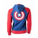 Großhandel Pullover & Sweatshirts: Sweat Captain America Marvel Frauen Déclinaiso