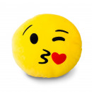 Pilloes Emoticons Variations: Smiley Cushion