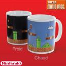 grossiste Electronique de divertissement: Mug Thermoréactif  Super Mario Bros Nintendo