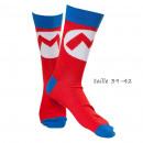 Großhandel Socken & Strumpfhosen: Socken Logo Mario -Nintendo Variationen: Chaus
