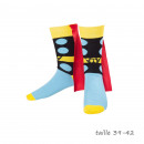 wholesale Socks and tights: Thor socks with Cape Marvel Variations: Cha