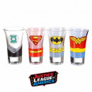 wholesale Other: Shooters Justice League - set of 4