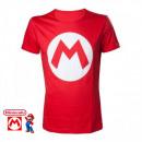 grossiste Electronique de divertissement: T-Shirt Mario  Nintendo Logo M Tailles:XL