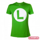 grossiste Electronique de divertissement: T-Shirt Luigi  Nintendo Logo L Tailles:T-Shirt Luig