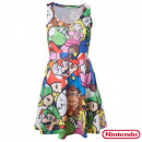 grossiste Electronique de divertissement: Robe Nintendo  Personnages Super Mario Bros Déclina