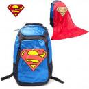 Großhandel Rucksäcke: Superman Rucksack mit Cape