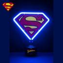 Neon lamp Superman Logo