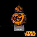 grossiste Lampes: Lampe BB-8 Star Wars Acrylique