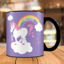 mayorista Termo: taza termo-unicornio Cielo del arco iris