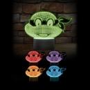 groothandel Lampen: Ninja Turtles Multicolor lamp
