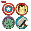 Coasters Marvel  Super Heroes - Set von 4