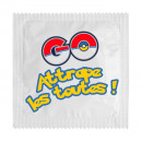 Los condones Pokémon Ir atraparlos a todos