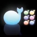 grossiste Materiel d'enfants et de puericulture: Veilleuse Baleine Multicolore