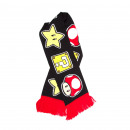 wholesale Consoles, Games & Accessories: Nintendo scarf - Toad, stars and mystery box