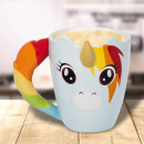 wholesale Other:Mug Unicorn Arc-en-Ciel