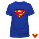 T-Shirt Superman Blue Sizes: T-shirt Superman Ble