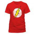 ingrosso T-shirts & Tops: T-Shirt Flash Logo  Effetto Vintage Taglie: T-shirt