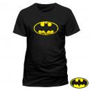 T-Shirt Batman logo effect Vintage Sizes: T-shirt